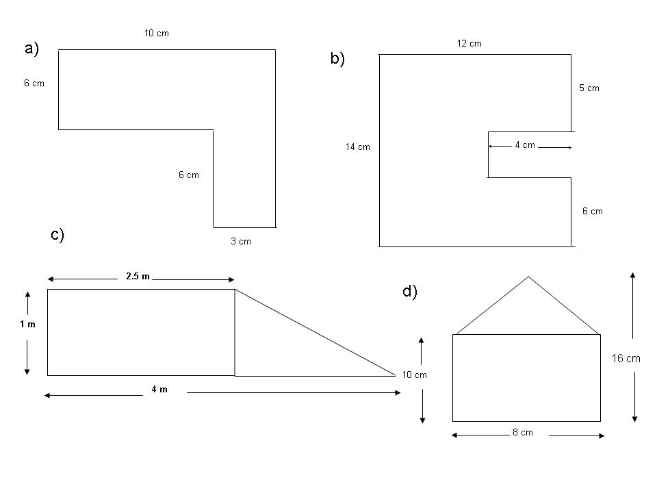 Area Of Composite Figures Worksheet 6th Grade - Templates and ...